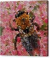 Buzzing Bumblebee Canvas Print