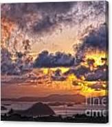 Bvi Sunset   Canvas Print