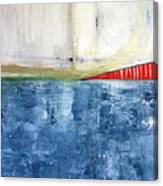 By The Bay- Abstract Art Canvas Print