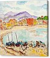 by The Lake II Canvas Print