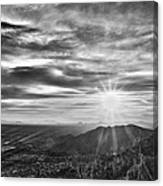 By The Light Of God Canvas Print
