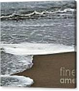By The Seashore Canvas Print