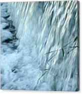 By The Weir Dam Canvas Print