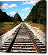 Never Ending Tracks Canvas Print