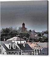 Bywater Rooftops Canvas Print