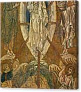 Byzantine Icon Depicting The Transfiguration Canvas Print