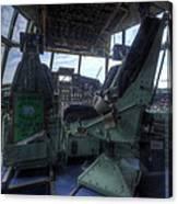 C-130 Cockpit Canvas Print