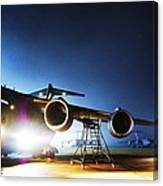 C-17 Lights Canvas Print
