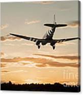 C-47 Finals Canvas Print