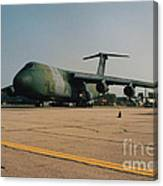 C-5 On Taxi Canvas Print