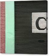 C  Canvas Print