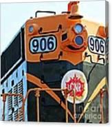 C N R Train 906 Canvas Print