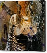 C215 Beautiful Model Canvas Print