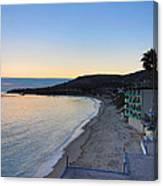Ca Beach - 121228 Canvas Print