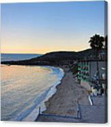 Ca Beach - 121229 Canvas Print