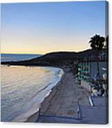 Ca Beach - 121230 Canvas Print