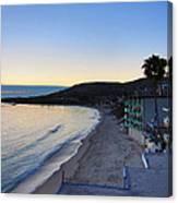 Ca Beach - 121231 Canvas Print