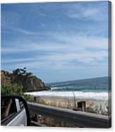 Ca Beach - 12127 Canvas Print