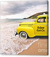 Cab Fare To Maui Canvas Print
