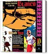 Caballo Blanco Event Poster In Missoula Montana Canvas Print