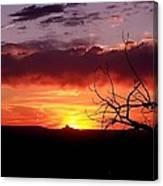 Cabazon Sunset Canvas Print