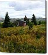 Cabin In Northern Minnesota Canvas Print