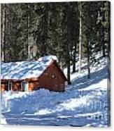 Cabin On Grand Mesa Co Canvas Print
