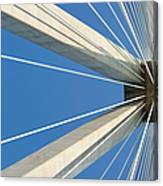 Cable Bridge Abstract Canvas Print