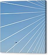 Cable Bridge Detail Canvas Print