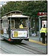 Cable Car At Fisherman's Wharf Canvas Print