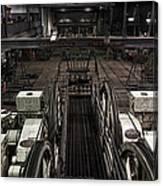 Cable Car Barn In San Francisco Canvas Print