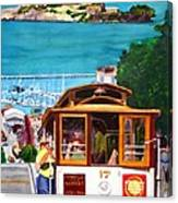 Cable Car No. 17 Canvas Print