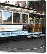 Cable Car Turn-around At Fisherman's Wharf No. 2 Canvas Print