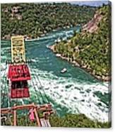 Cable Car Whitewater Canvas Print