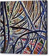 Cable Jungle Canvas Print