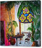 Cabo Cafe Canvas Print