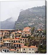Cabo Girao Madeira Portugal Canvas Print