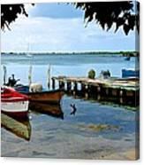 Cabo Rojo Skiffs Canvas Print