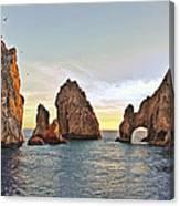 Cabo San Lucas Arch Sunset Canvas Print
