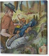 Caboodle Ranch Cats Canvas Print