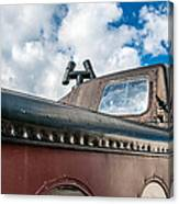 Caboose Roof Canvas Print