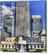 Cabot Square London Canvas Print