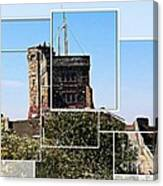 Cabot Tower Montage Canvas Print