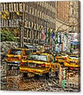 Cabs In The Canyons Canvas Print