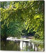 Cacapon River On  127 Canvas Print