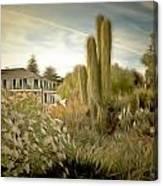 Monterey California Cactus Garden Canvas Print