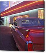 Caddy At Diner Canvas Print