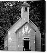 Cades Cove Missionary Baptist Church Canvas Print