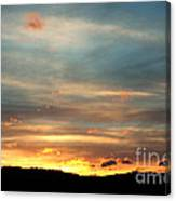 Cades Cove Sunset Canvas Print