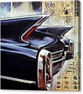 Cadillac Attack Canvas Print